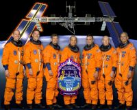 STS-117 Official NASA Crew Portrait (Anderson Added)